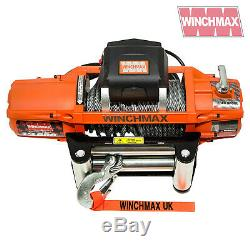 ELECTRIC WINCH 24V 4x4 13500 lb SL WINCHMAX BRAND RECOVERY/OFF ROAD WIRELESS