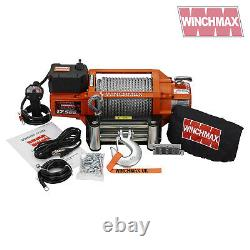 ELECTRIC WINCH 24V 4x4 17500 lb SL WINCHMAX BRAND RECOVERY/OFF ROAD WIRELESS