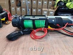 ELECTRIC WINCH RECOVERY WINCH&TRUCK MOUNT PLATE NEW HI-VIZ ROPE £365.00 inc vat