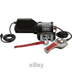Electric AC Winch & Remote Control 1500 Lbs 120 Volts 2611 Freespooling