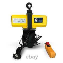 Electric Chain Hoist Overhead Crane with 20FT Remote Control(120V/60HZ-1100LBS)