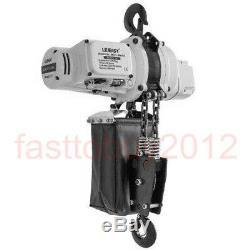 Electric Hoist Lifting Engine Winch Hoist Crane 0.5T/1T 1100lbs/ 2200lbs 220V