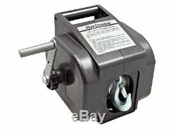 Electric Portable Trailer Recovery Winch, 2000 LBS Five Oceans FO-3440-1