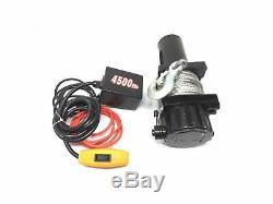 Electric Trailer Recovery Winch, 4500 lbs Five Oceans FO-3300