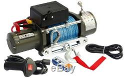 Electric Winch 12V 12000lbs with Kevlar Cable