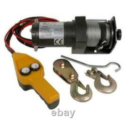 Electric Winch 12 V 1000 To 2000lb Reversible recovery/boat trailer free post