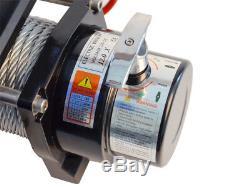 Electric Winch 12v 5443kg/12000lb 4800w, Length 28m Diam 9.1mm