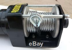Electric Winch 3000LB 12V ATV Winches Boat Trailer