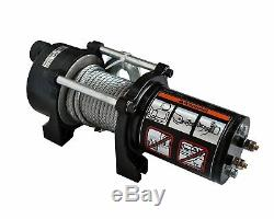 Galaxy Auto Electric Winch Kit 2000 LB Load Capacity