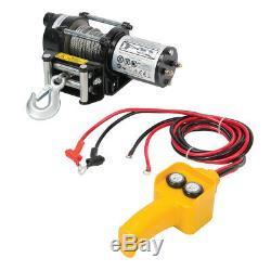 Genuine Silverline DIY 12V Electric Winch 2000lb 748850
