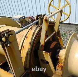 Jeamar Marine Navy Mooring Electric Winch RK12000-150 Max Load 12.000 Lbs