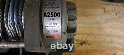 John Deere Electric Winch 2500 lb (Steel Cable)