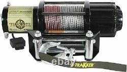 KEEPER KT4000 Trakker 1.6 Horsepower 12V DC Electric Winch 4,000lbs SC