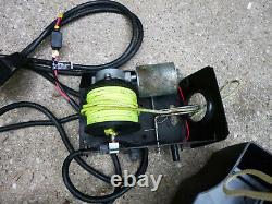 Minn Kota boat electric anchor winch 35 lbs DH 35 remote cables 18' NOS tested