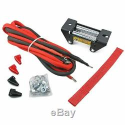 NEW! 12V 6000LBS 2722KG Electric Winch Steel Cable Universal ATV UTV 4WD Truck