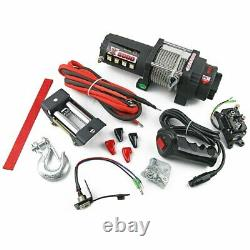 New 12v 6000lbs 2722kg Electric Winch Steel Cable 4x4 4wd Truck Boat Atv Utv