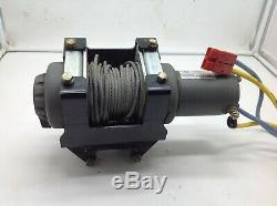 Polaris Sportsman 2004 600 700 ATV UTV Warn 2500lb Winch Mount Cable Electrical