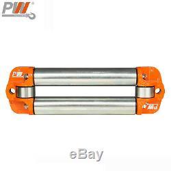 ProWinch 13,500 lbs Electric Waterproof Winch Steel Rope Steel Roller 24V Wir