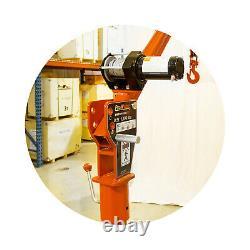 Prowinch 1000 lbs Davit Crane 360 Swivel with Wireless Electric Winch 12V