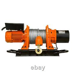 Prowinch 1/2 ton Industrial Electric Winch 1000 lb Heavy Duty with Wire Rope
