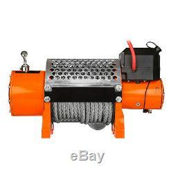 Prowinch 20000 lbs Electric Waterproof Winch Wire Rope 24V Wireless