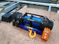 RECOVERY TRUCK WINCH ELECTRIC ENDURANCE 13500lB SYNTHETIC ROPE £325.00 inc vat