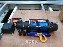 RECOVERY WINCH 13500LB 12V ELECTRIC WINCH SYNTHETIC TRUCK-ROPE £325.00 inc vat