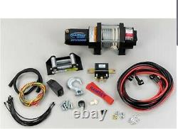 Ramsey 12 Volt DC Powered Electric ATV Winch with Wireless Remote 3000-Lb