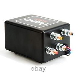 Rhino Electric Winch Wireless 4500Lb / 2040Kg 12v Carbon Black