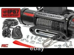 Rough Country 12000lb Pro Series Electric Winch Synthetic Rope