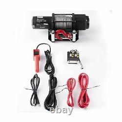 Rugcel Electric Winch 12V DC 5000 Lb Off Road Automatic Powersports ATV Utility