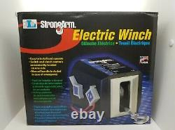 STRONGARM SA12015AC 4000 lb Powered Electric Winch With Remote Control NEW