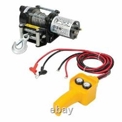 Silverline DIY 12V Electric Winch 2000lb 748850