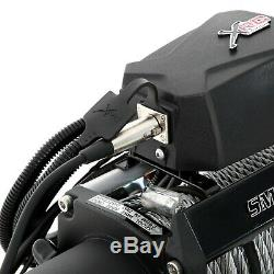 Smittybilt 97495 9,500 lbs XRC Gen 2 Series Winch with Steel Cable