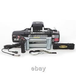 Smittybilt 97510 X2o-10K Gen2 Winch 10000 Lb. Line 6.6 Hp Steel Rope Black