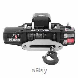 Smittybilt 98512 X2O-12K 12000 lbs Gen 2 Comp-Series Waterproof Winch