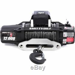 Smittybilt 98512 X2O 12 Comp Gen2 12,000 Lb Winch WithSynthetic Rope