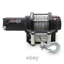 Smittybilt Electric Winch with 60 Cable & 4,000 lb. Capacity 97204
