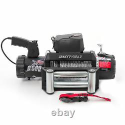 Smittybilt XRC Waterproof Winch Gen2 9500lb Rate 12V Electric 93.5FT Steel Cable