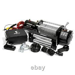 Speedmaster 9500lbs / 4310kgs 12V Electric 4wd Winch Kit with Wireless Remote