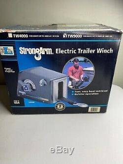 StrongArm Electric Trailer Winch TW9000 For Boats Up To 9000lbs
