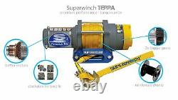 Superwinch 1125220 Terra 25 3/16x50' Electric Winch with 2500 lb Capacity