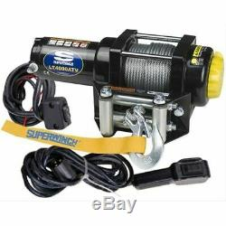 Superwinch 1140220 Winch Electric 12V 4000 lbs Roller Fairlead 50 ft Steel Cable