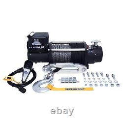 Superwinch 11500Sr Winch 11500Lbs 12 Vdc 3/8 X 80' Synthetic Rope Remote Control