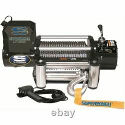 Superwinch 1510200 Winch LP10000 10000 lb. Roller Fairlead 3/8 x 85 ft. Cable