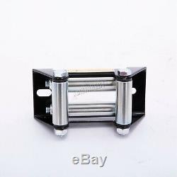 SwitZer Electric Winch 3500lb 12V Recovery Wireless Caravan Hoist Trailer Grey