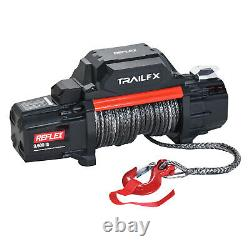 TrailFX 12V Electric Winch with Synthetic Rope & 9,500 lbs. Capacity WRS95B