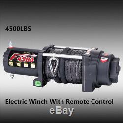 Tungsten4x4 4500lbs 1.9HP ATV/UTV Electric Utility Winch F4500