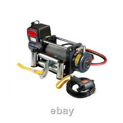 Universal KDS-12.0C 12000lb Pound Recovery Electric Winch 12V Steel Cable Rope