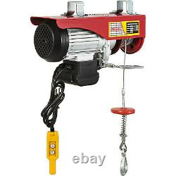 VEVOR 1100Lbs Electric Hoist Winch Lifting Crane Overhead with Remote Control